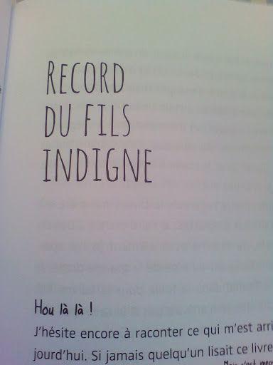 le livre de mes records nuls de Bernard Friot