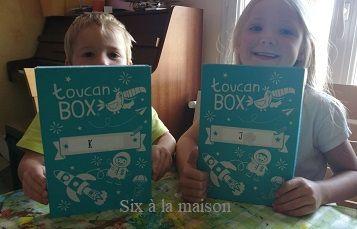 Toucan Box box creative enfant