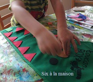 ToucanBox activité enfants kit dinosaure déguisement DIY