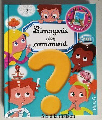 L'imagerie des Comment?  Fleurus enfants imagerie interactive