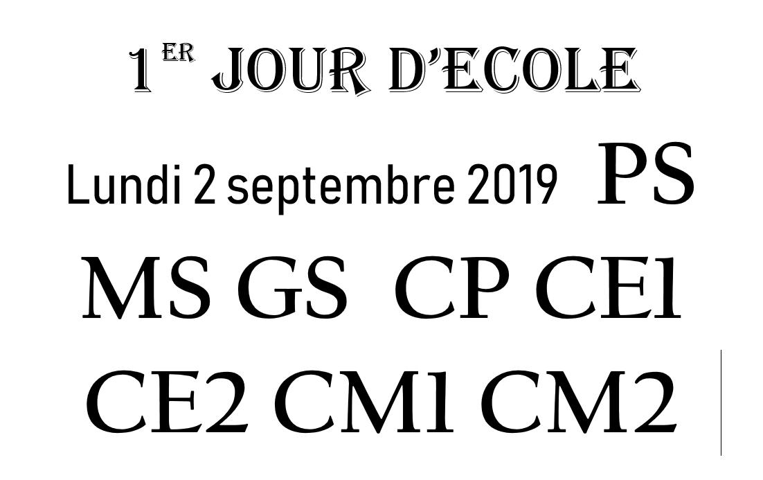 1er jour d'ecole 2019 PS MS GS CP CE1 CE2 CM1 CM2 à imprimer Comme des bêtes 2 The secrets life of pets