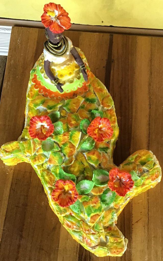 Cake design Martinique, ananas