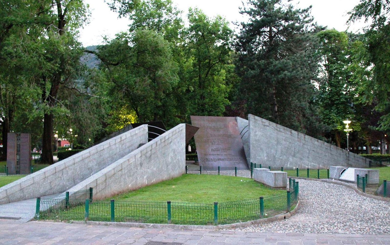 monumento alla Resistenza europea a Como