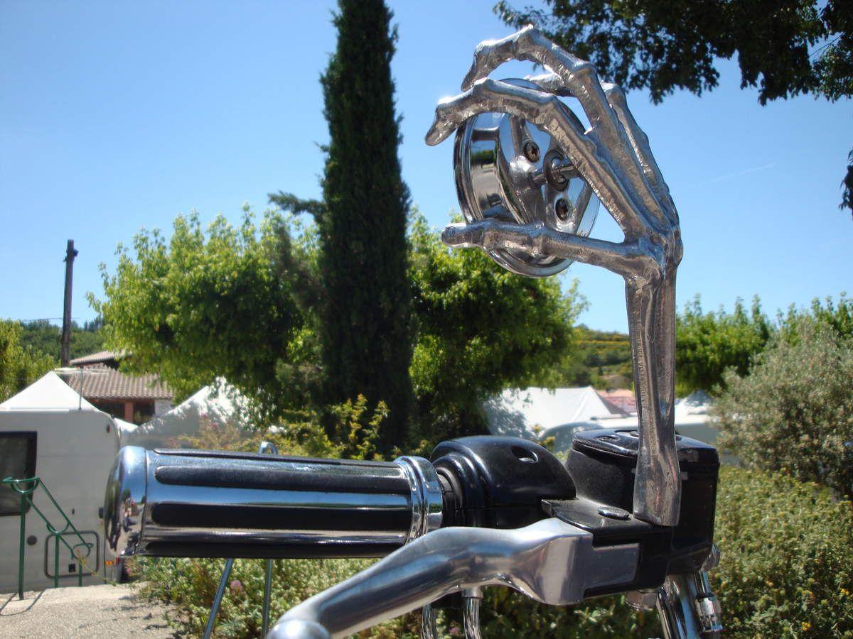 American Cruising à Malemort du Comtat au profit de l'enfance malade le 31 mai 2015 au guidon de ma Harley