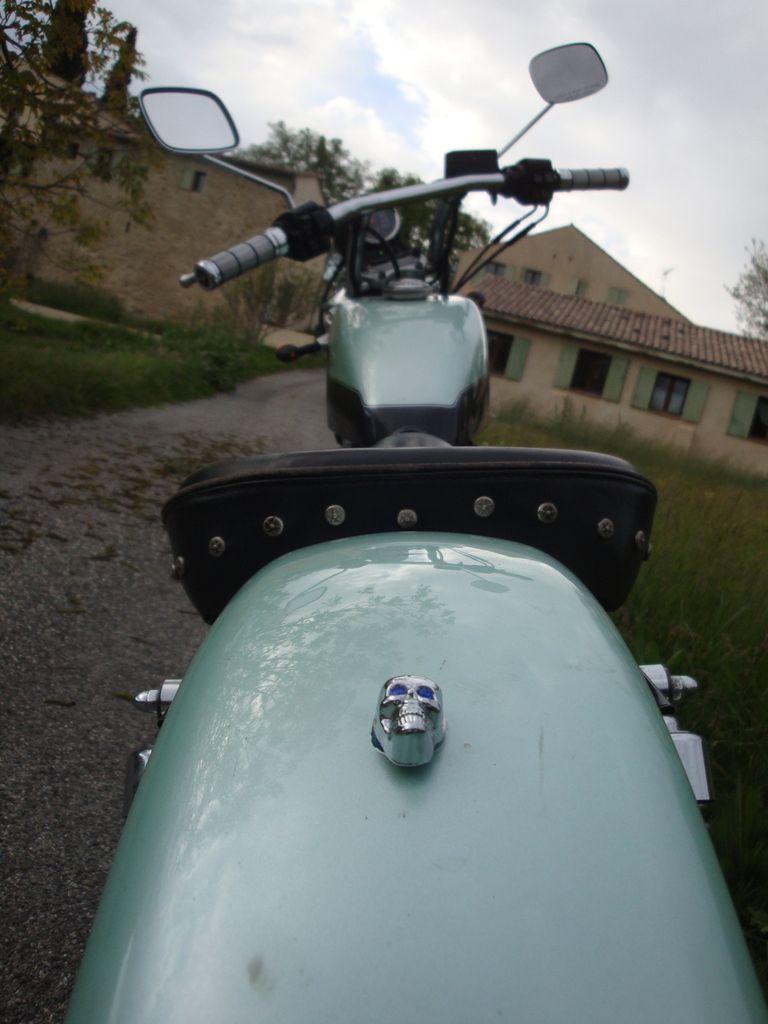 Cotignac en Harley Davidson