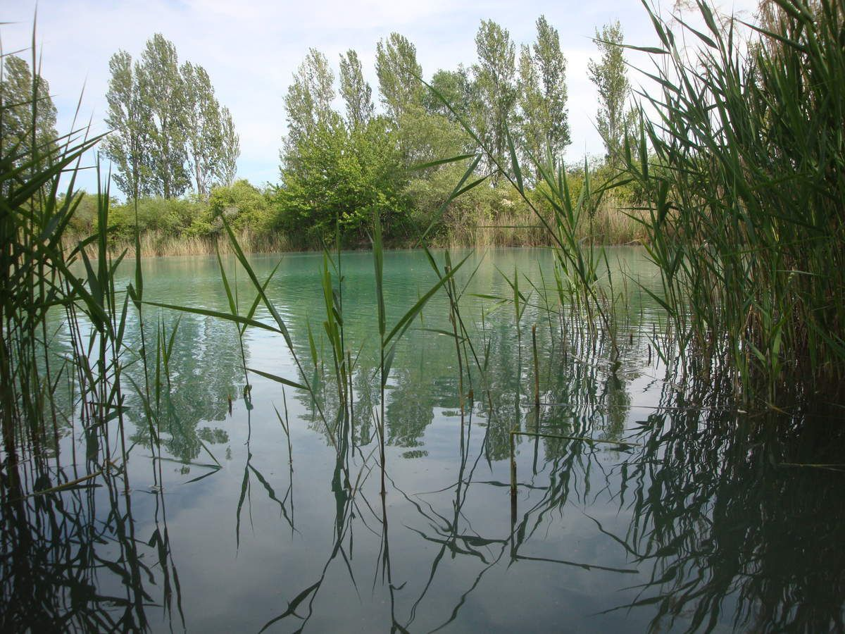 Lac des Buissonnades. Oraison