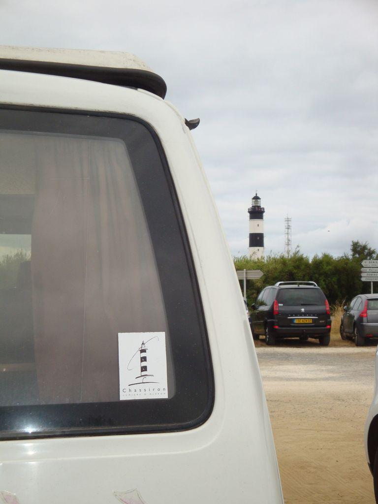 Le phare de Chassiron en van VW T4 california