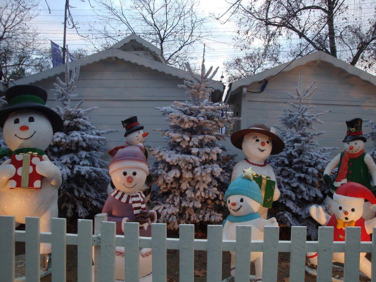La féérie de Noël à Paris