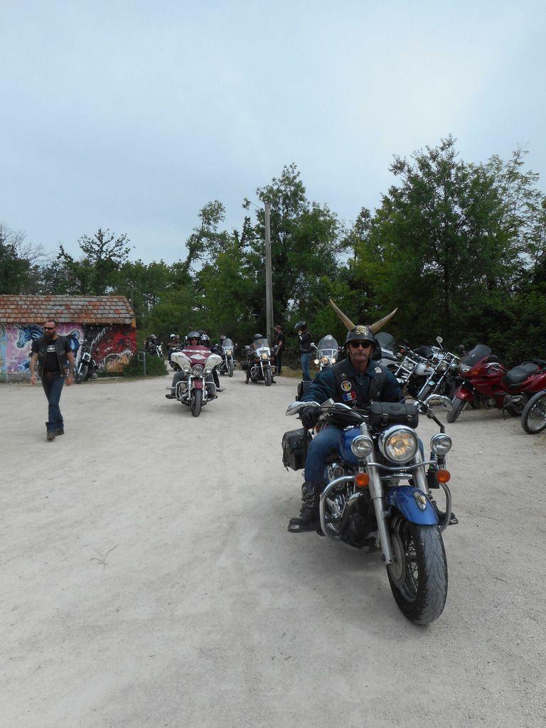 Orphan Days à Noves en Harley Davidson