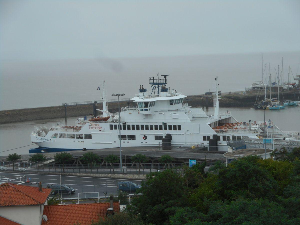 Embarcadère de la Pointe de Grave pour rejoindre Royan