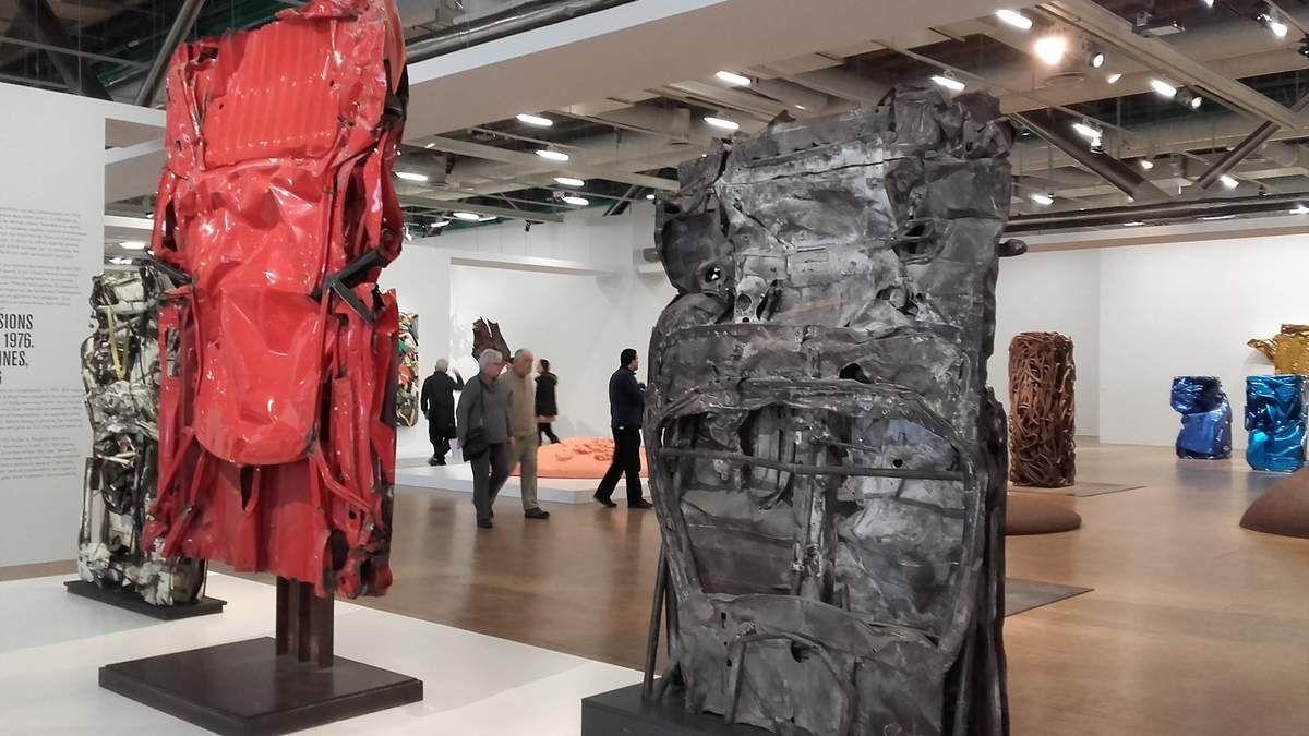 exposition de CESAR à Beaubourg, Paris