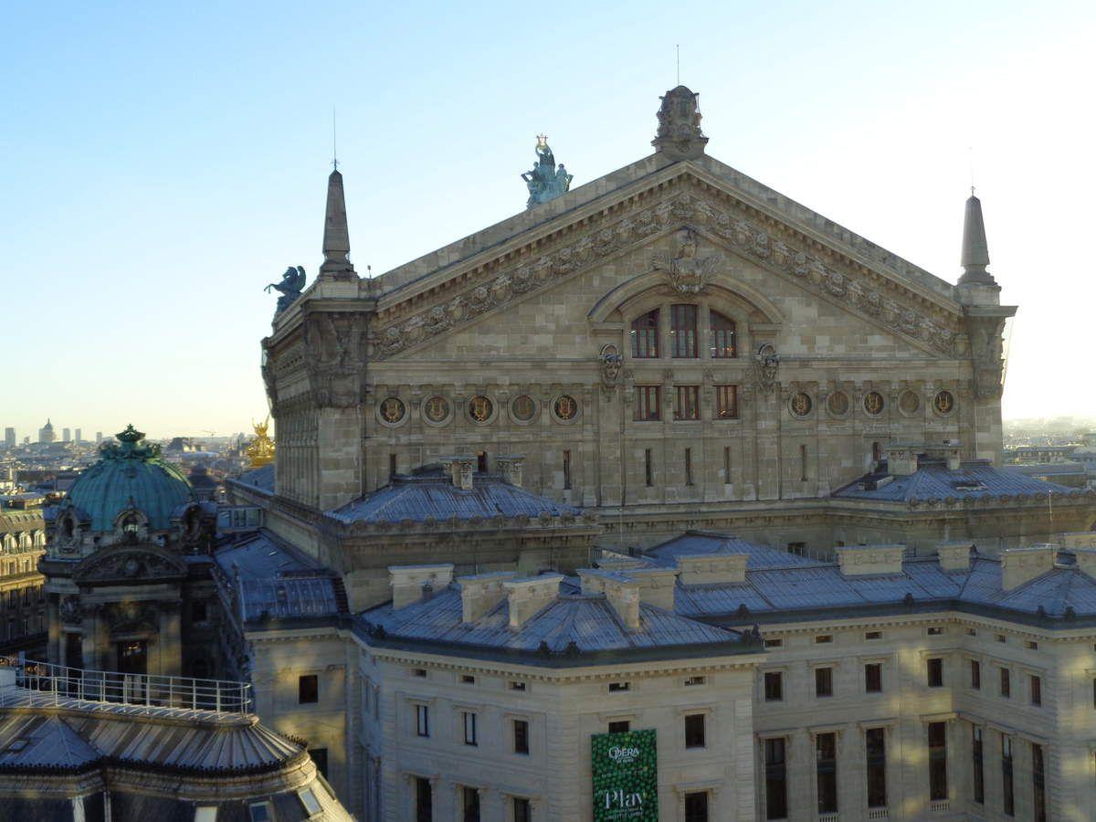 Les galeries Lafayette, Paris à noël