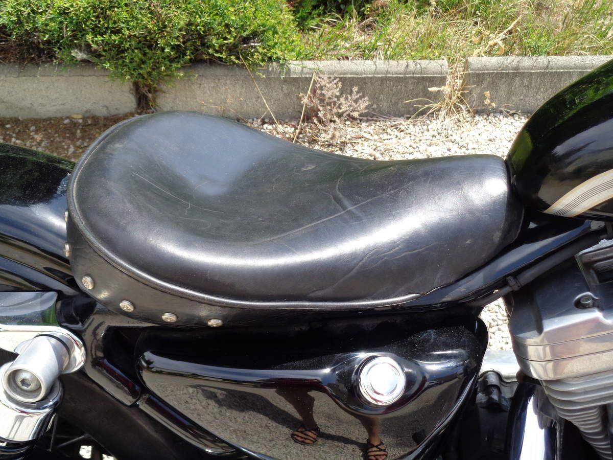 relooking de mon Harley Davidson 883, 100ème anniversaire