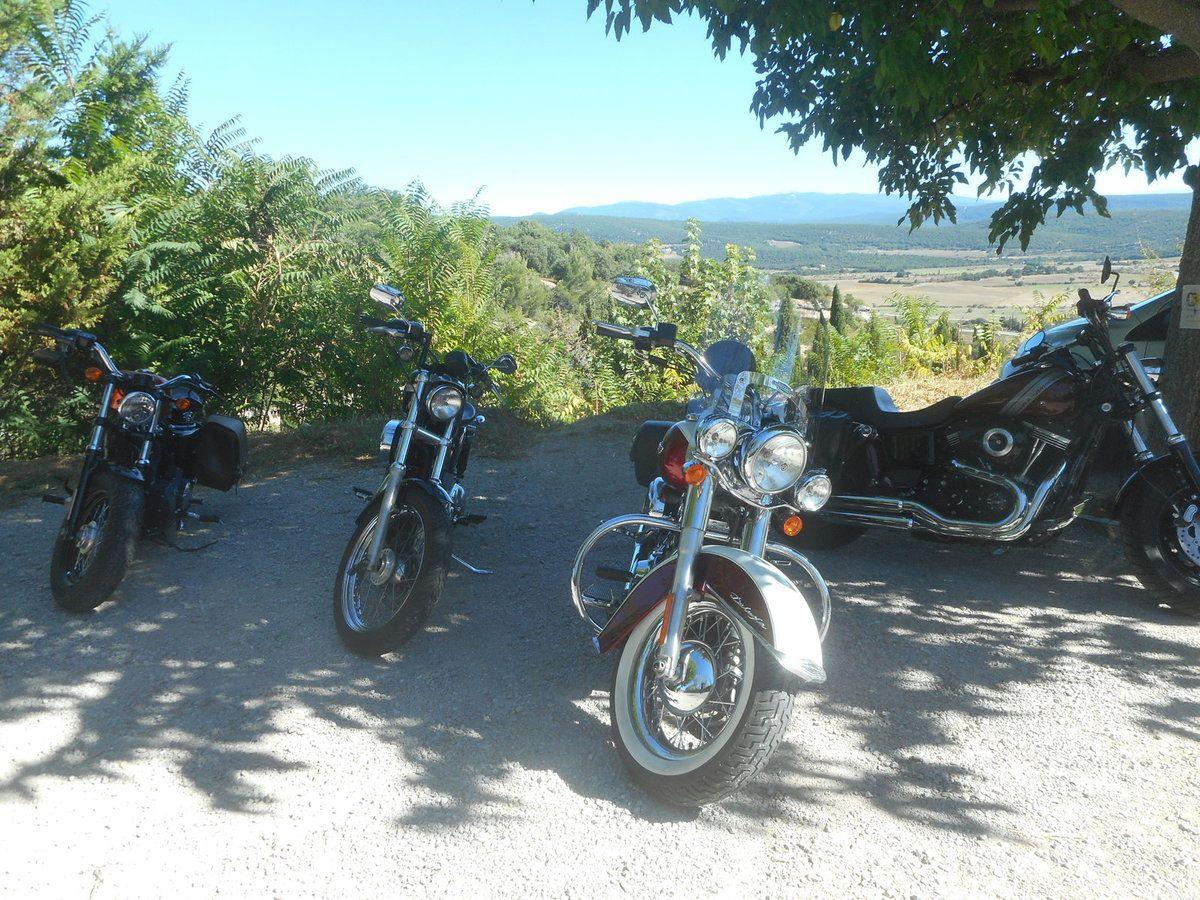 Balade automnale en Harley Davidson