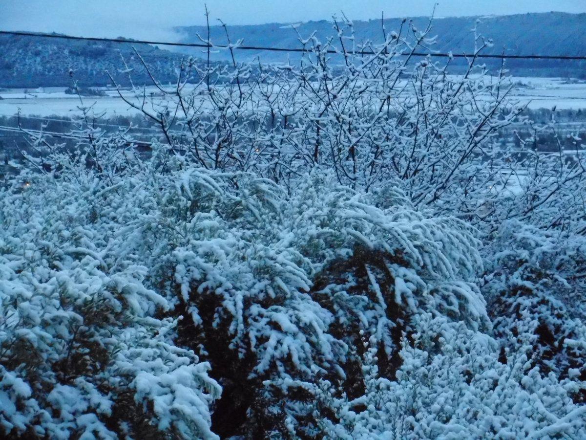Neige dans les Alpes de Haute Provence
