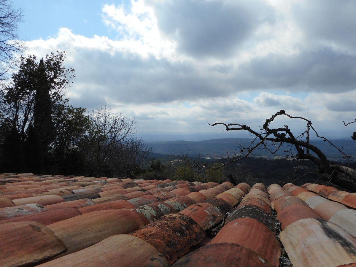 Vue panoramique de la terrasse du resto !