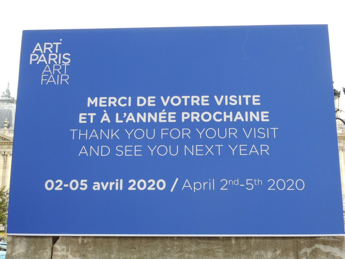 Art Paris 2019 au Grand Palais