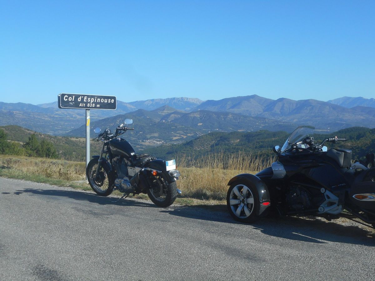 Col d'Espinouse, 838 m