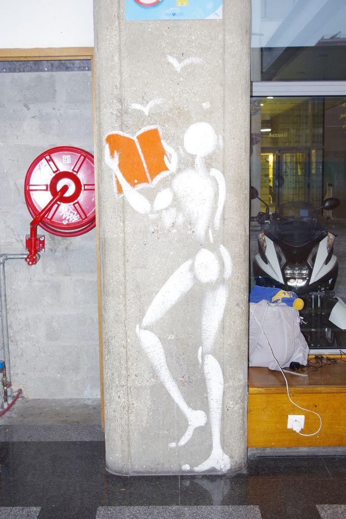 L'art s'invite à l'hôpital Saint Antoine, Paris