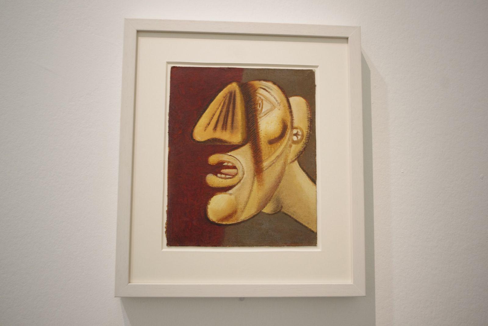 """HANS HARTUNG, expo """" La fabrique du geste """" Musée d'Art Moderne, Paris"""