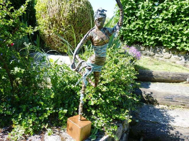 Powertex statue-la danseuse
