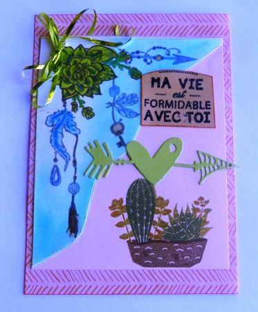 Passion Cartes Créatives les défis 540 et 541  : contribution vivi26