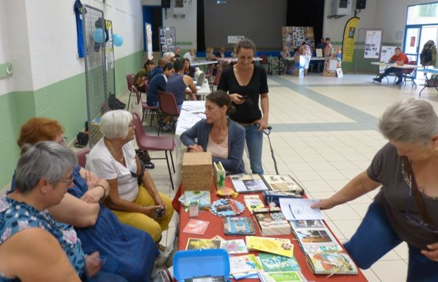 forum des associations à Clérieux le 7 septembre 2018