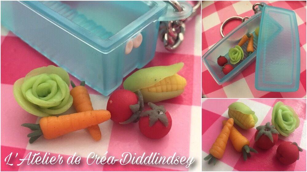 Des légumes miniature en porcelaine froide pour Anakyne