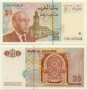 dirhams marocain