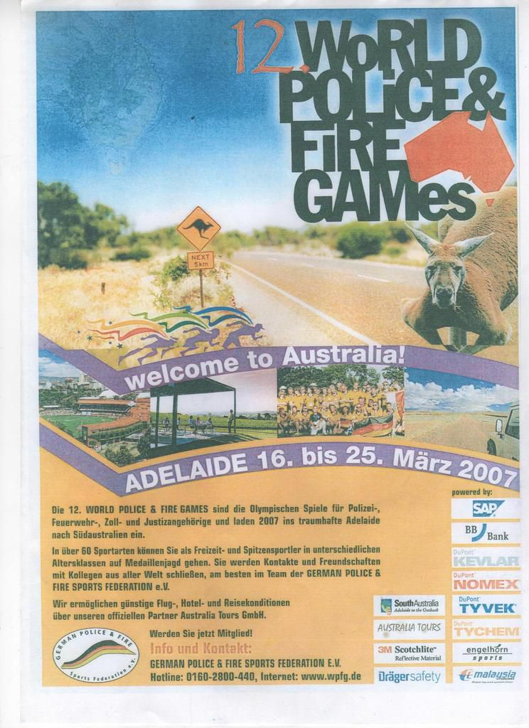 World Police & Fire Games 2007 Adelaide