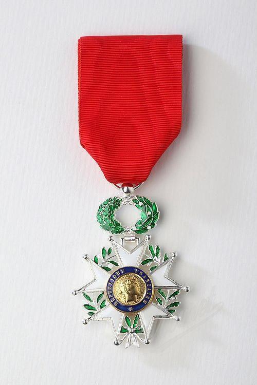 Le patron de TORANN - FRANCE  décoré  chevalier de la légion d'honneur !