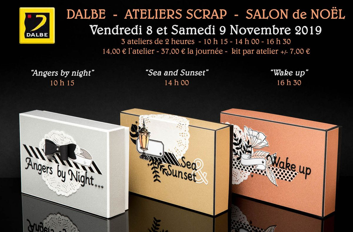 DALBE - SALON de NOËL 2019 - Angers by night 1/3