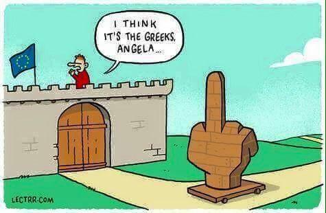 Le message grec à Angela Merkel et à l'Europe, la démocratie a parlé