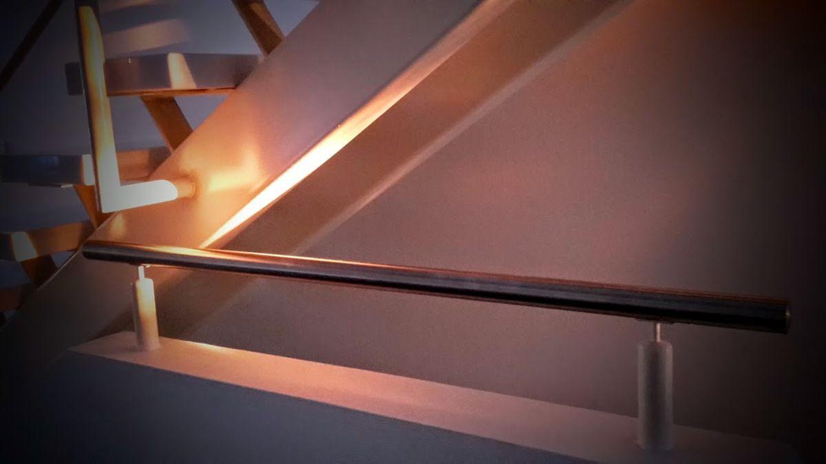 Photo du soleil qui voulait se coucher dans la maison