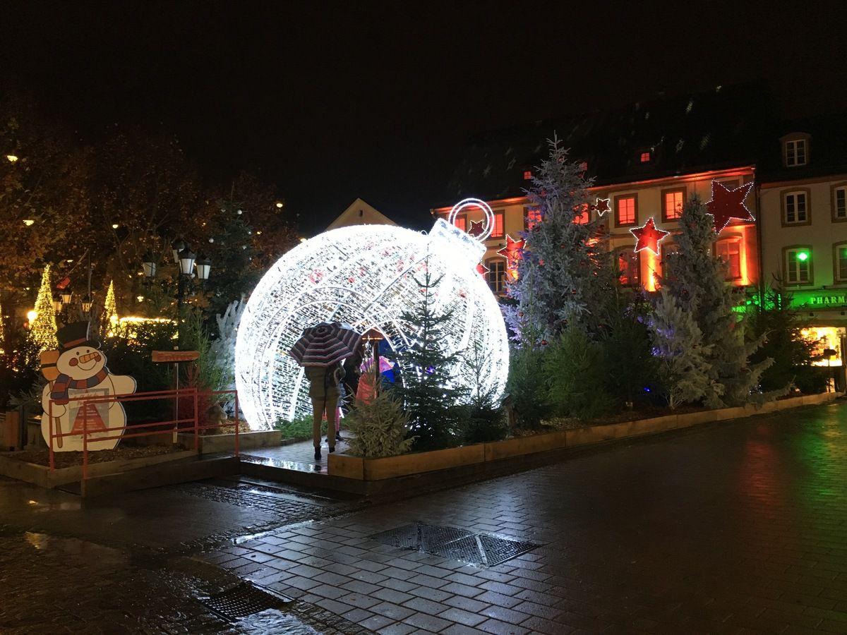 Le marché de Noël 2015 de Haguenau est ouvert