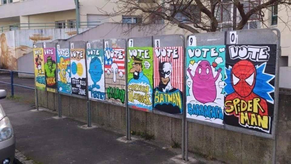 Humour Elections  régionales: Si vous ne savez pas pour qui voter