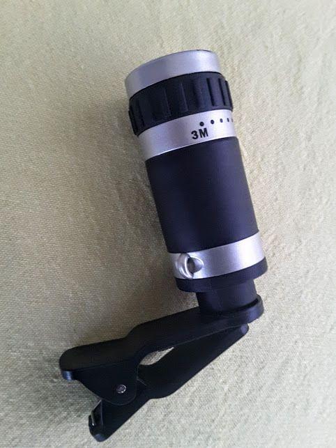 Apexel 8x zoom optique lentille de la caméra du télescope pour Samsung Galaxy / note ou autres téléphones mobiles