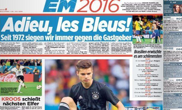 EURO 2016 : Quand les allemands souffrent de complexe de supériorité