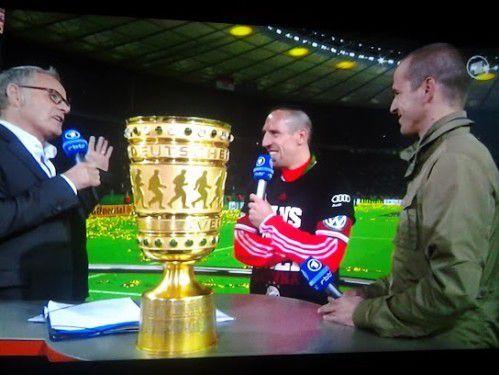 Humour Ribéry: Le génie d'Allemagne