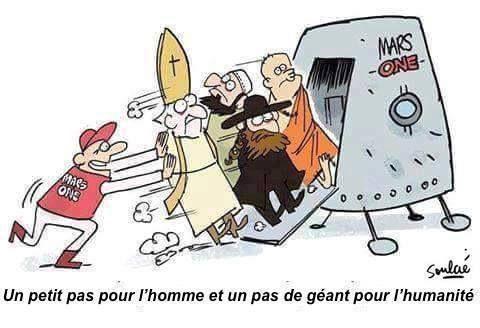 Humour laïque: Sans guerre de religions ?
