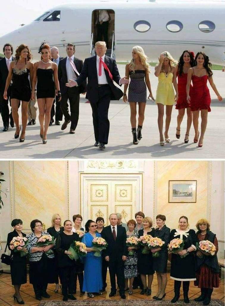 Humour coquin: Pourquoi Vladimir POUTINE envie TRUMP?