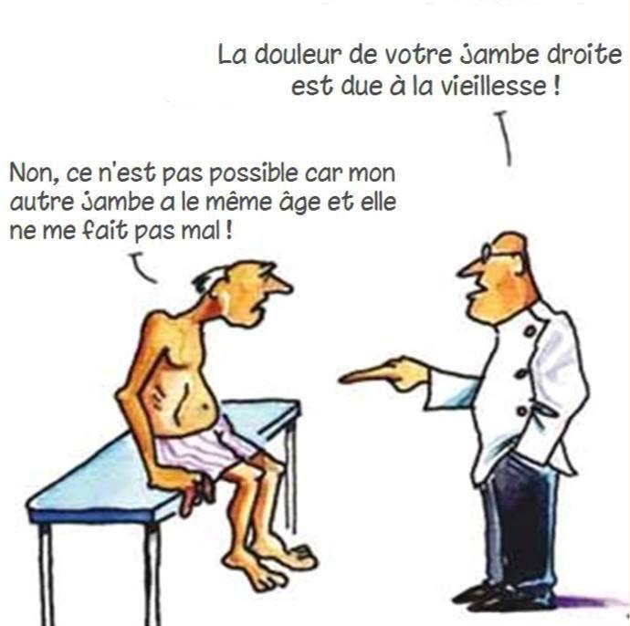 Humour médecin: Tous les patients ne sont pas cons