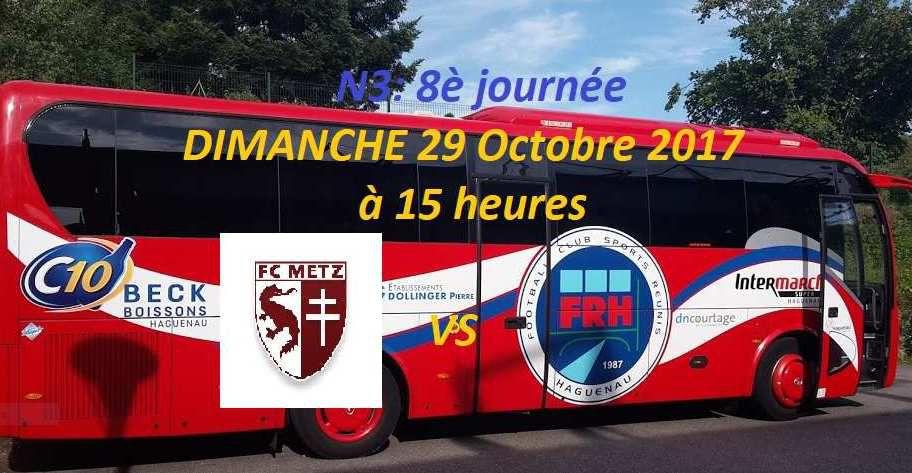 N3 8è journée: Le FR Haguenau à Metz pour se reforger un mental