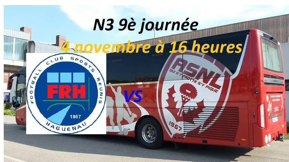 N3: Le FR Haguenau veut confirmer face à l'AS Nancy Lorraine B