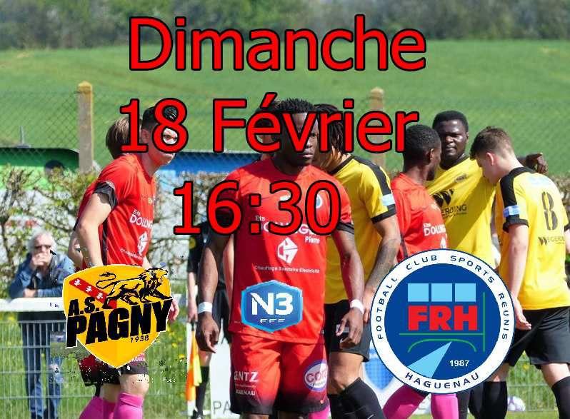 N3 19e journée: Le FR Haguenau ira à PAGNY/Moselle, la lanterne rouge