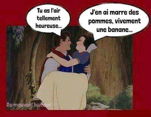 Humour Pomme: Coquine Blanche-neige