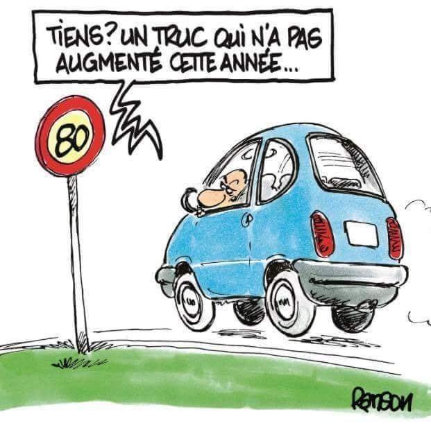 Humour France: Tout augmente sauf ...