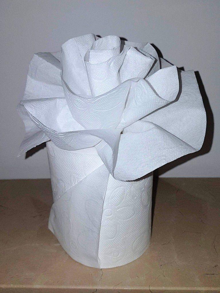 Décoration : Fleur de PQ