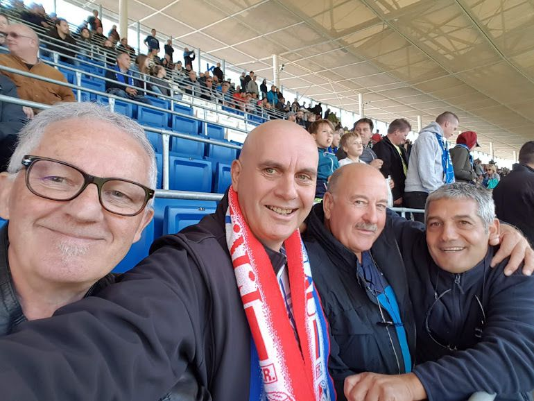 #FanClubDuFRHaguenau #Hoffenheim #Echarpe #ZumGriechen #Sinsheim #football #Fussball
