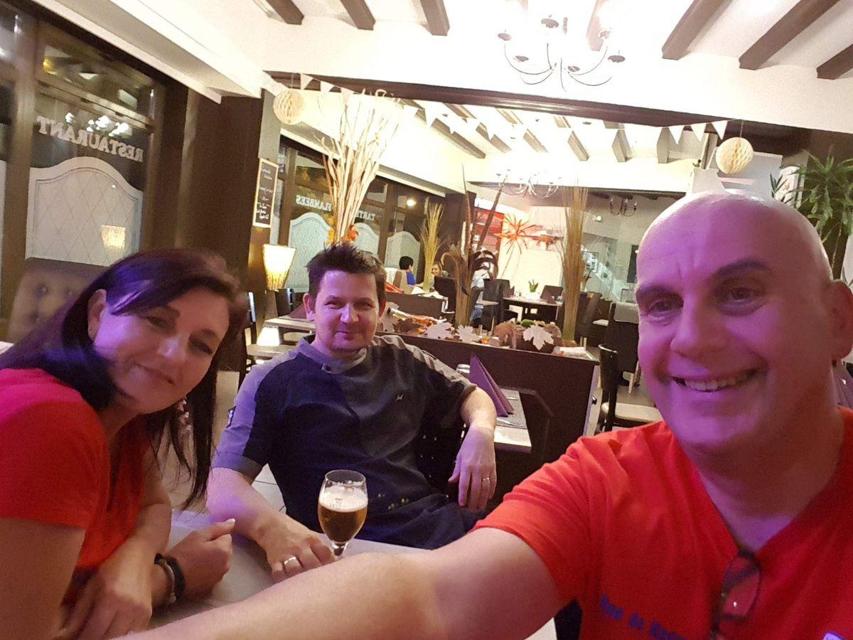 Le comité du Fan Club du FRH lors de la 2ème soirée Stammtisch. #FanClubDuFRHaguenau #fanclub #FRHaguenau #football #Haguenau